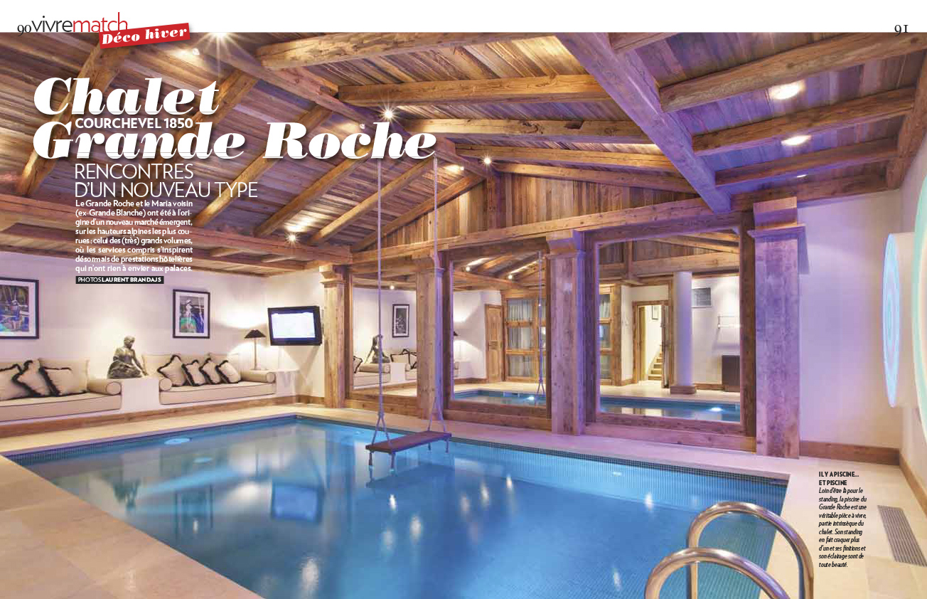 Chalet grande roche courchevel 1850 laurent brandajs photographer