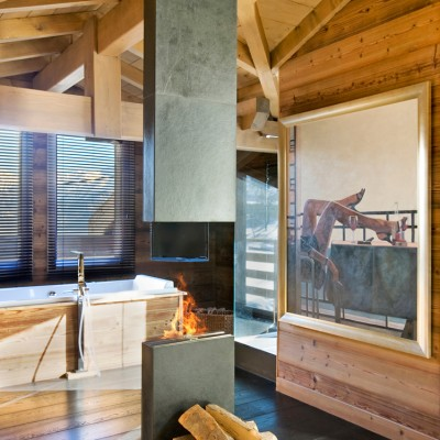 Chalet One Oak – Bathroom