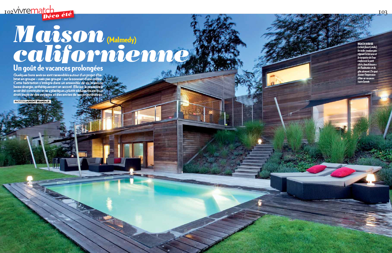 Maison Californienne Malmedy Laurent Brandajs Photographer