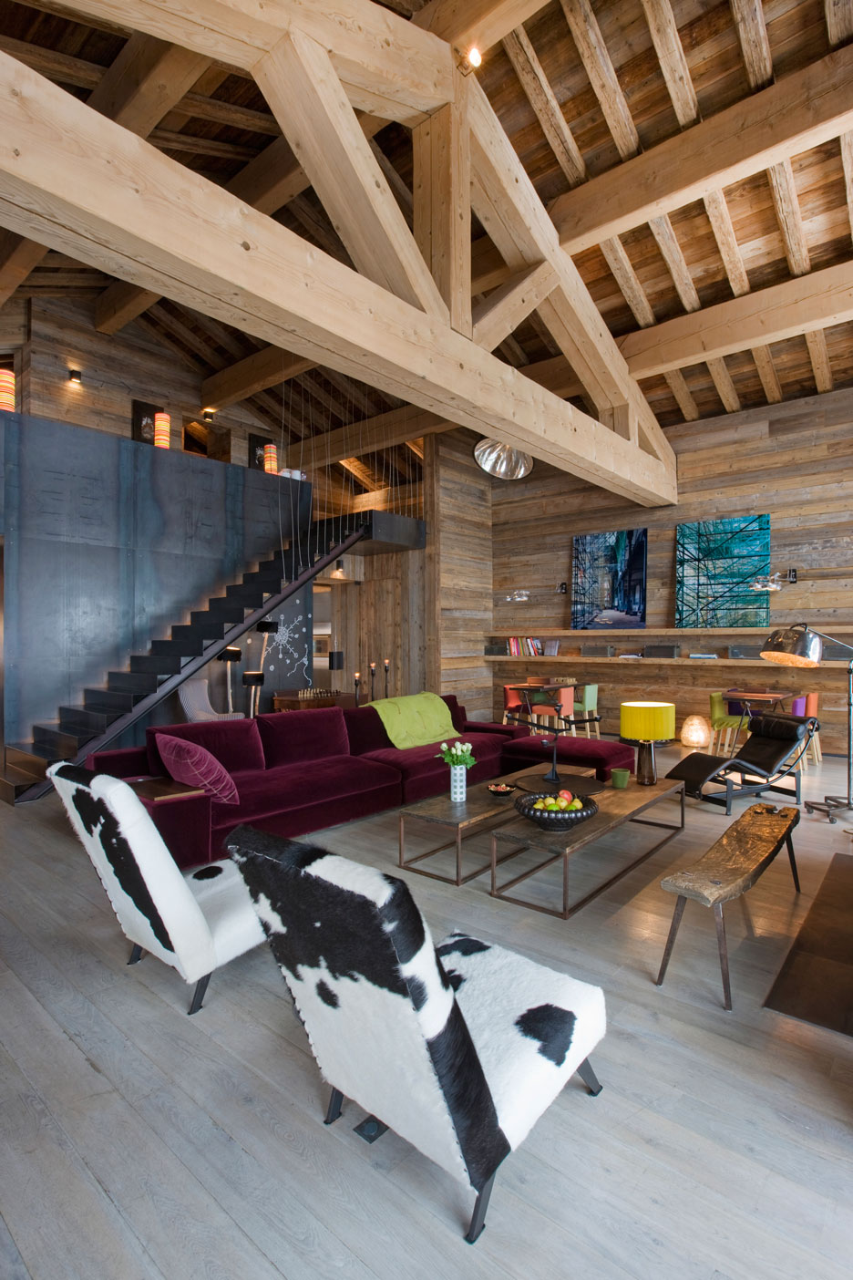 Chalet Grand Cerf - Jean michel arch Villot decoration Oddo and Gernez  Meribel - France