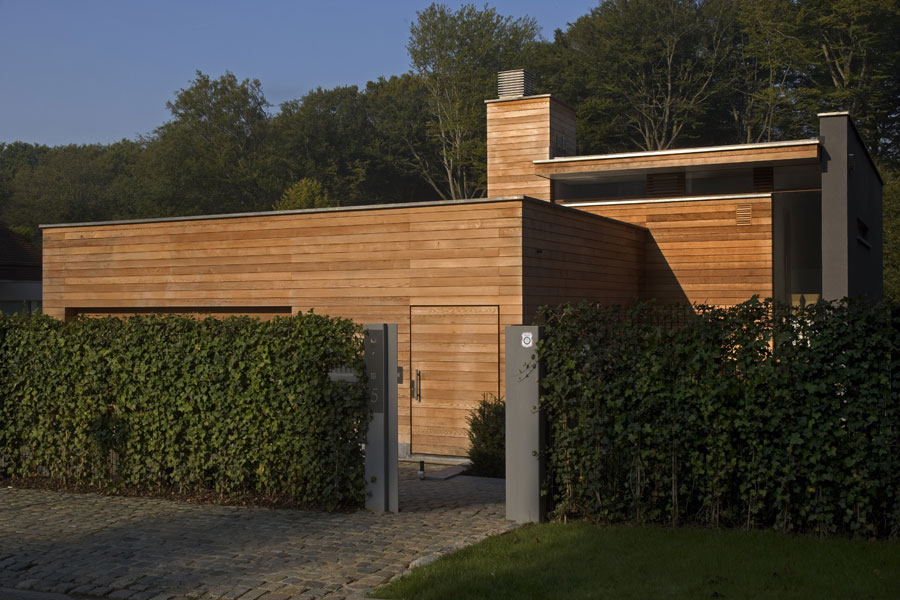 HOUSE P  •  architecte : JM Gillet - Uccle, Belgium
