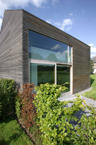 WOODEN HOUSE ESSENTIEL  •  architectes : Martiat et Durnez – Malmedy, Belgium