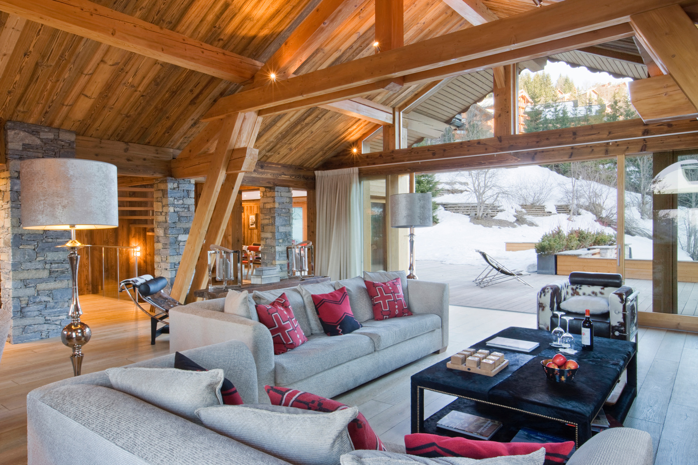 Chalet mont tremblant meribel laurent brandajs for Meuble branchaud mont tremblant